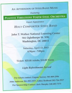 Positive Vibrations Youth Steel Orchestra
